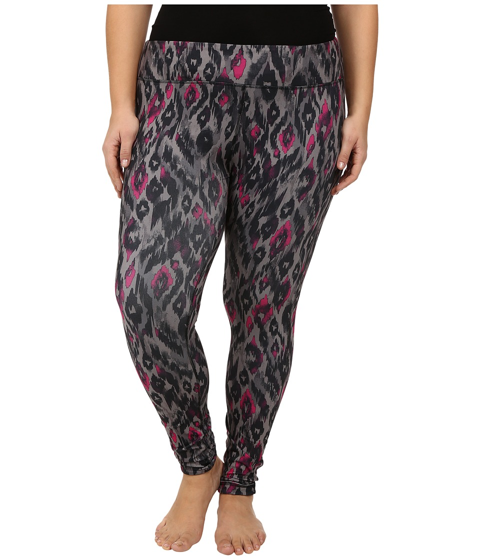 Marika Curves - Plus Size Uptown Reversible Leggings (Black) Women's Casual Pants