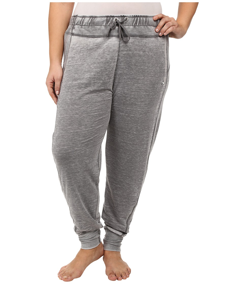 Marika Curves - Plus Size Belmont French Terry Jogger (Heather Charcoal) Women's Casual Pants