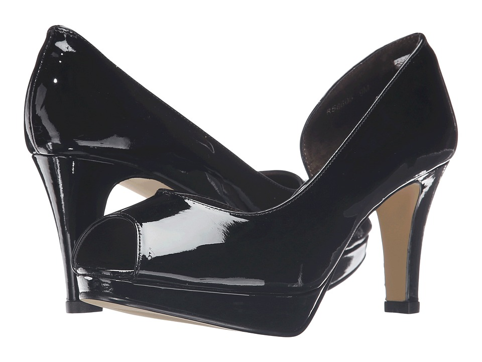 Rose Petals - Pippa (Black Patent) Women's Shoes