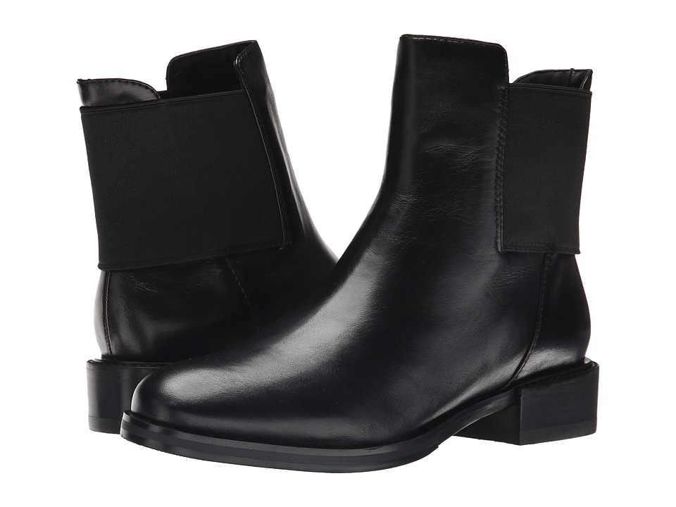 Clarks - Marquette Wish (Black Leather) Women's Pull-on Boots