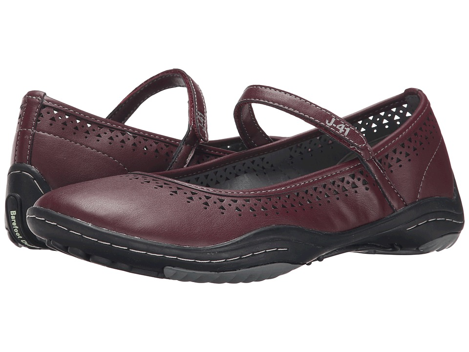 J-41 - Milan - Barefoot (Burgundy) Women's Shoes