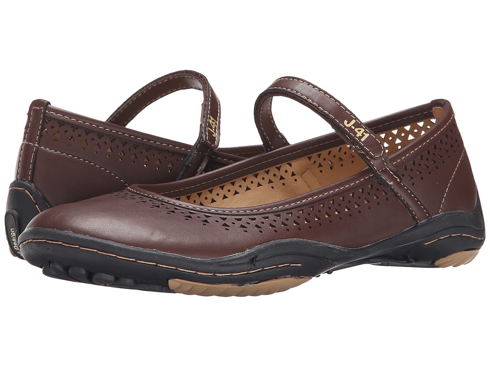 J-41 - Milan - Barefoot (Coffee) Women's Shoes