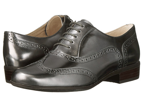 Clarks - Hamble Oak (Dark Pewter Metallic) Women