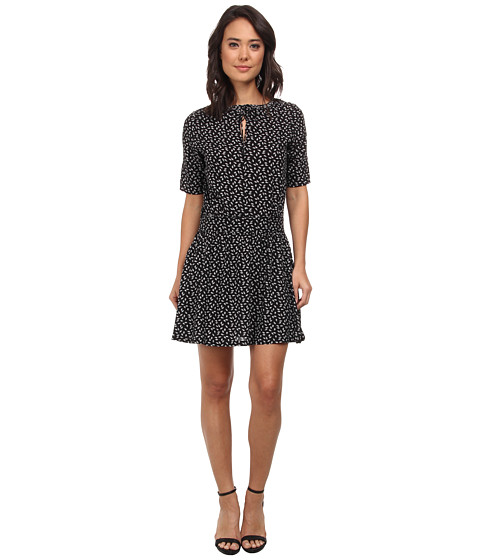 Maison Scotch - Laced Collar Dress (Black) Women's Dress
