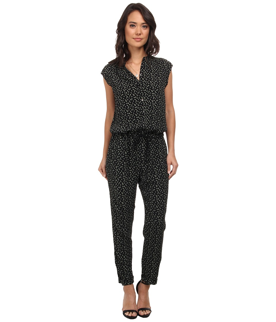 Maison Scotch - Viscose Blend Jumpsuit (Black) Women's Jumpsuit & Rompers One Piece