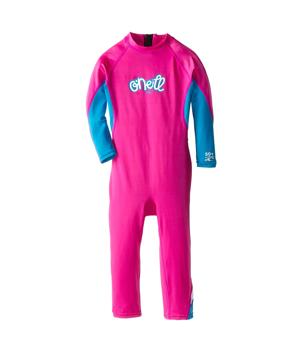 O'Neill Kids - O'Zone Full (Infant/Toddler/Little Kids) (Berry/Sky/White) Girl's Wetsuits One Piece