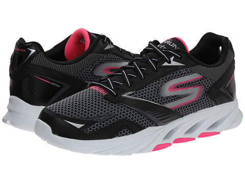 SKECHERS - Go Run Vortex (Black/Hot Pink) Women