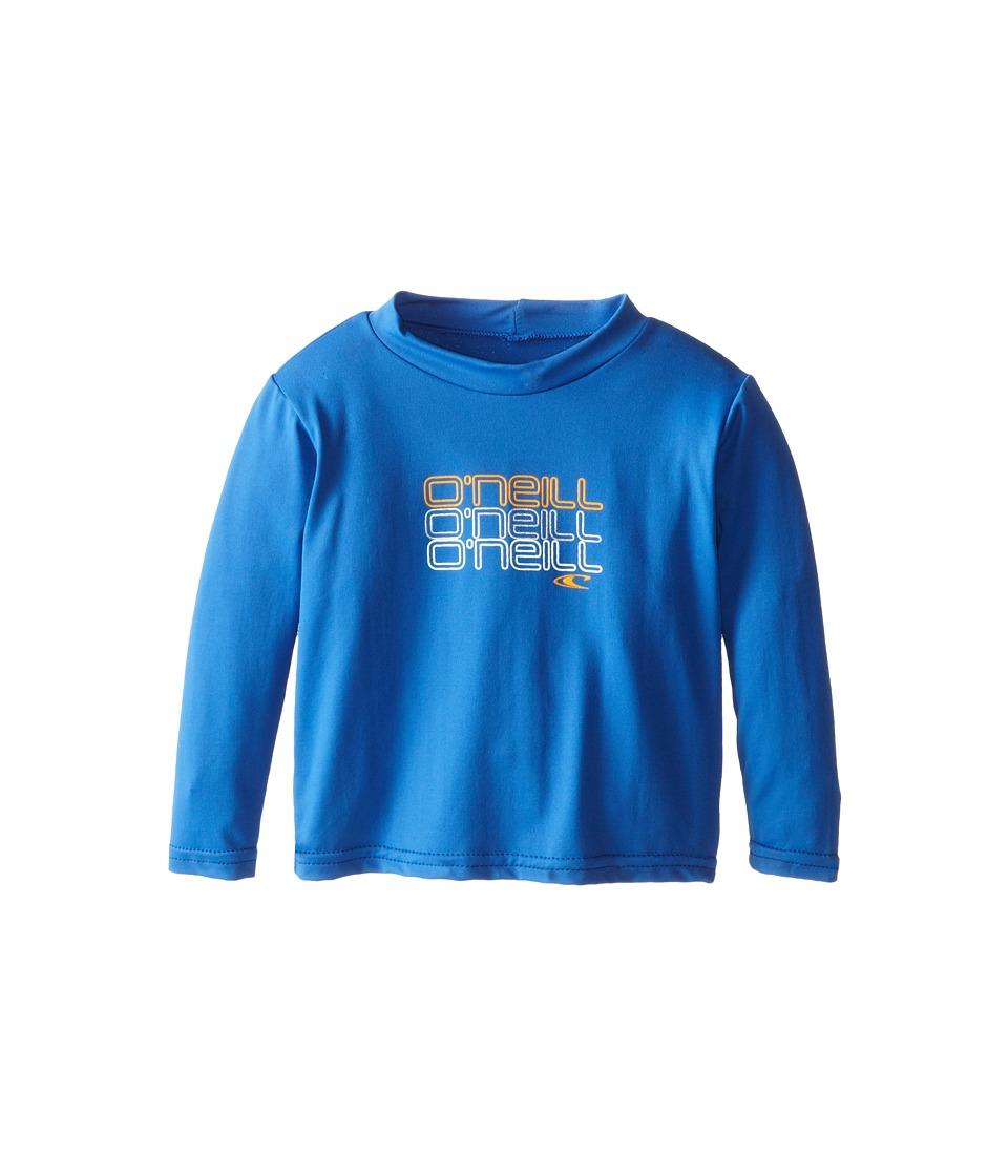 O'Neill Kids - Skins Long Sleeve Rash Tee (Infant/Toddler/Little Kids) (Deep Sea) Boy's T Shirt