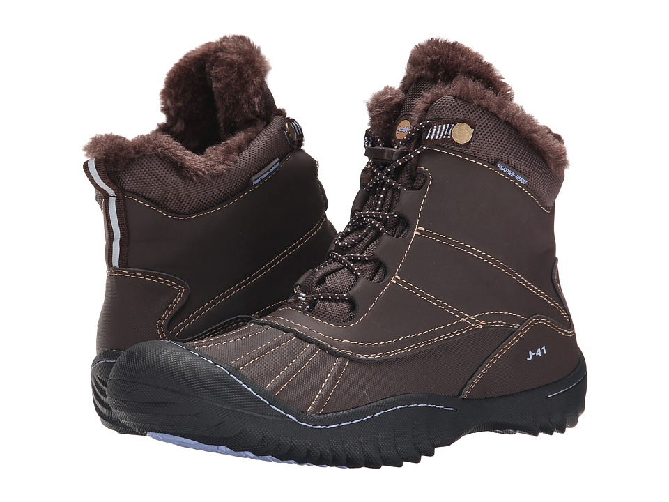 J-41 - Christine (Brown) Women's Waterproof Boots