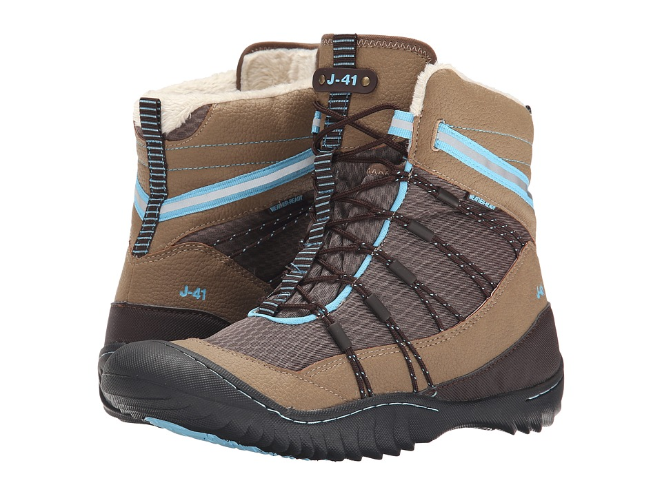 J-41 - Kansas (Espresso) Women's Waterproof Boots