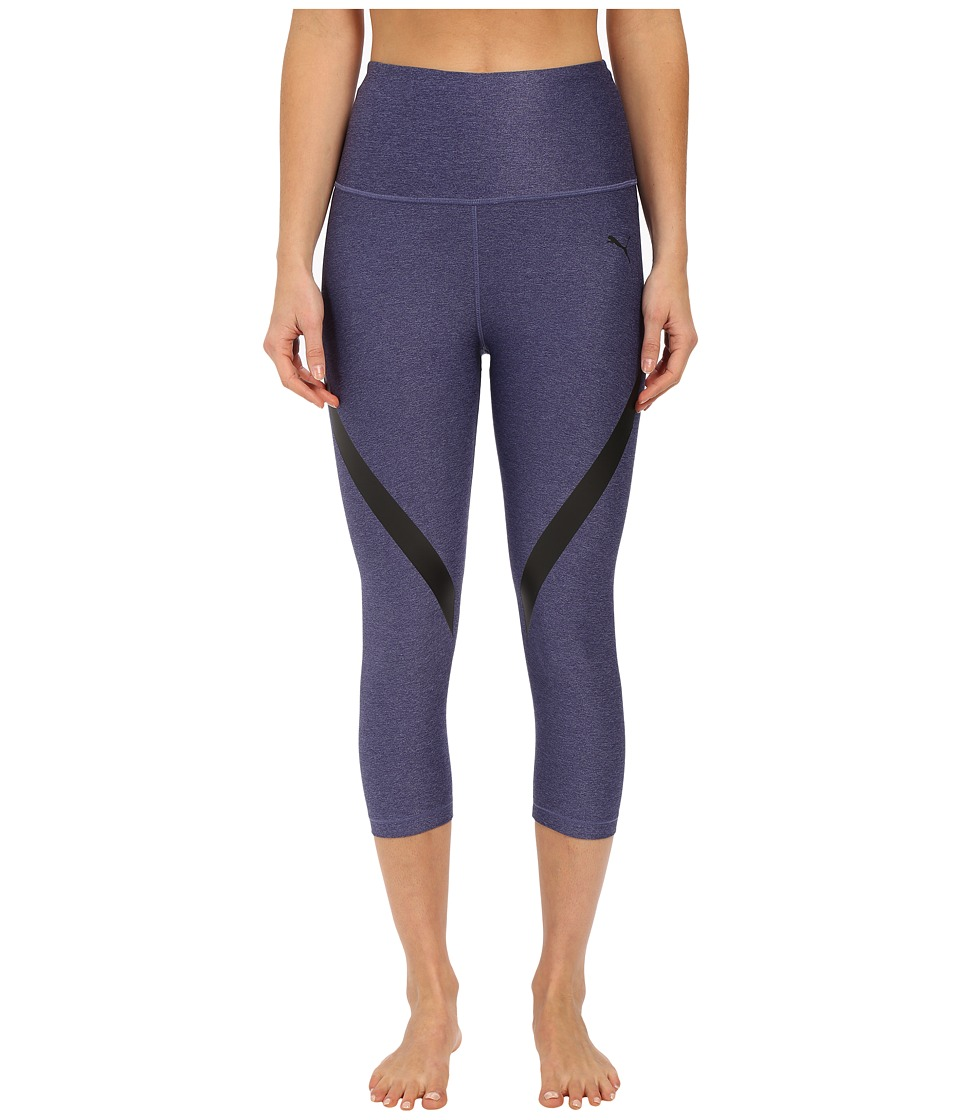PUMA - WT Powershape Knee Capris (Astral Aura) Women's Workout