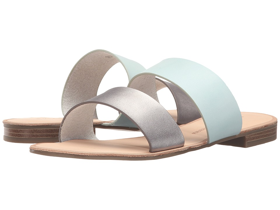 Chinese Laundry - Gimme (Silver/Blue) Women's Sandals