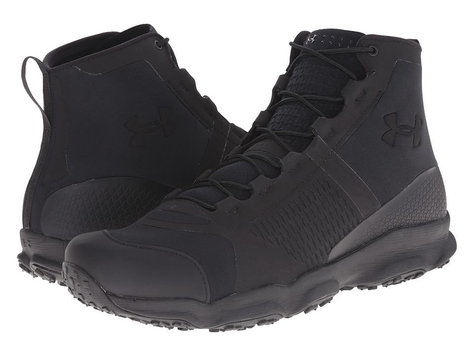 Under Armour - UA SpeedFit Hike (Black/Black/Black) Men's Work Boots