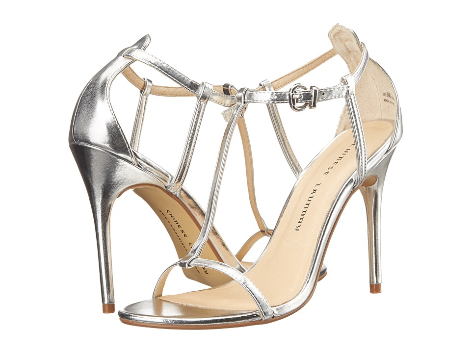 Chinese Laundry - Leo T Strap Sandal (Silver) High Heels