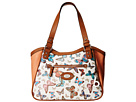 Jardines Printed Butterfly Tote