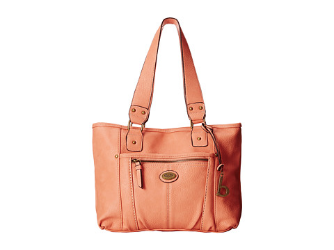 b.o.c. - Sinaloa Shopper Tote (Coral) Tote Handbags