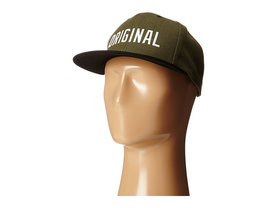 KR3W - Original Snap Hat (Drab/Black) Caps