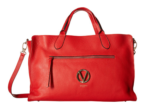 Valentino Bags by Mario Valentino - Carosso (Red) Satchel Handbags