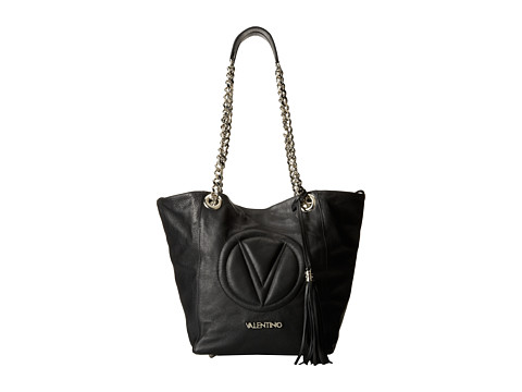 Valentino Bags by Mario Valentino - Bona (Black) Shoulder Handbags