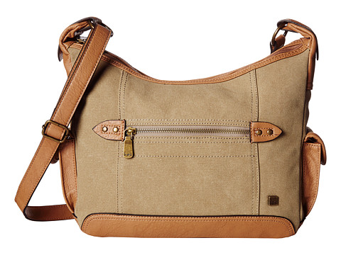 b.o.c. - Lemoor Canvas Large Hobo (Khaki) Hobo Handbags