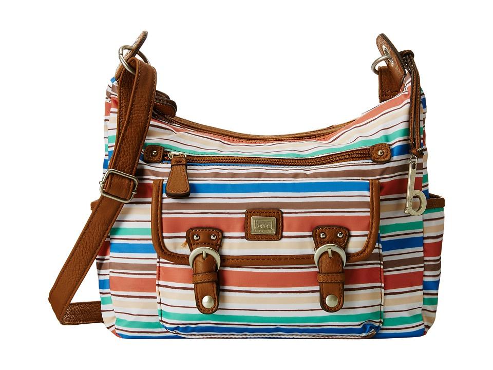 b.o.c. - Primavera Large Hobo (Stripe) Hobo Handbags