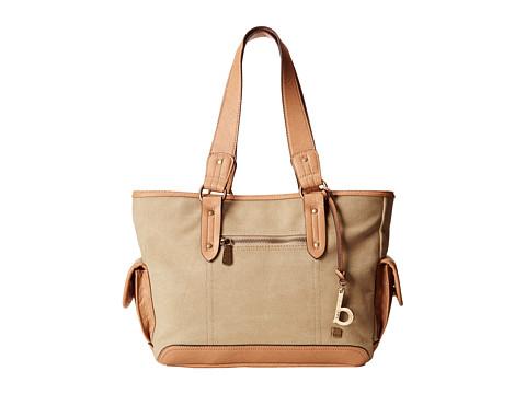 b.o.c. - Lemoor Canvas East/West Shop Tote (Khaki) Tote Handbags