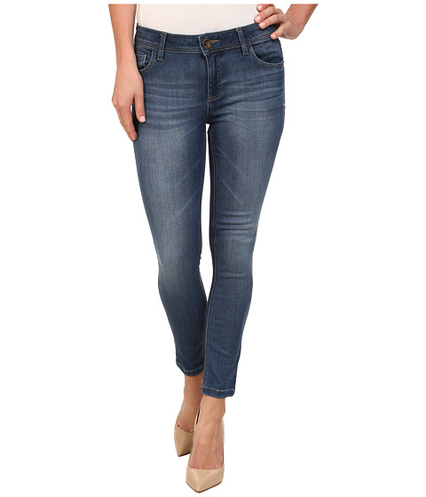 DL1961 - Florence Crop in Fauna (Fauna Soft Blue Denim) Women's Jeans