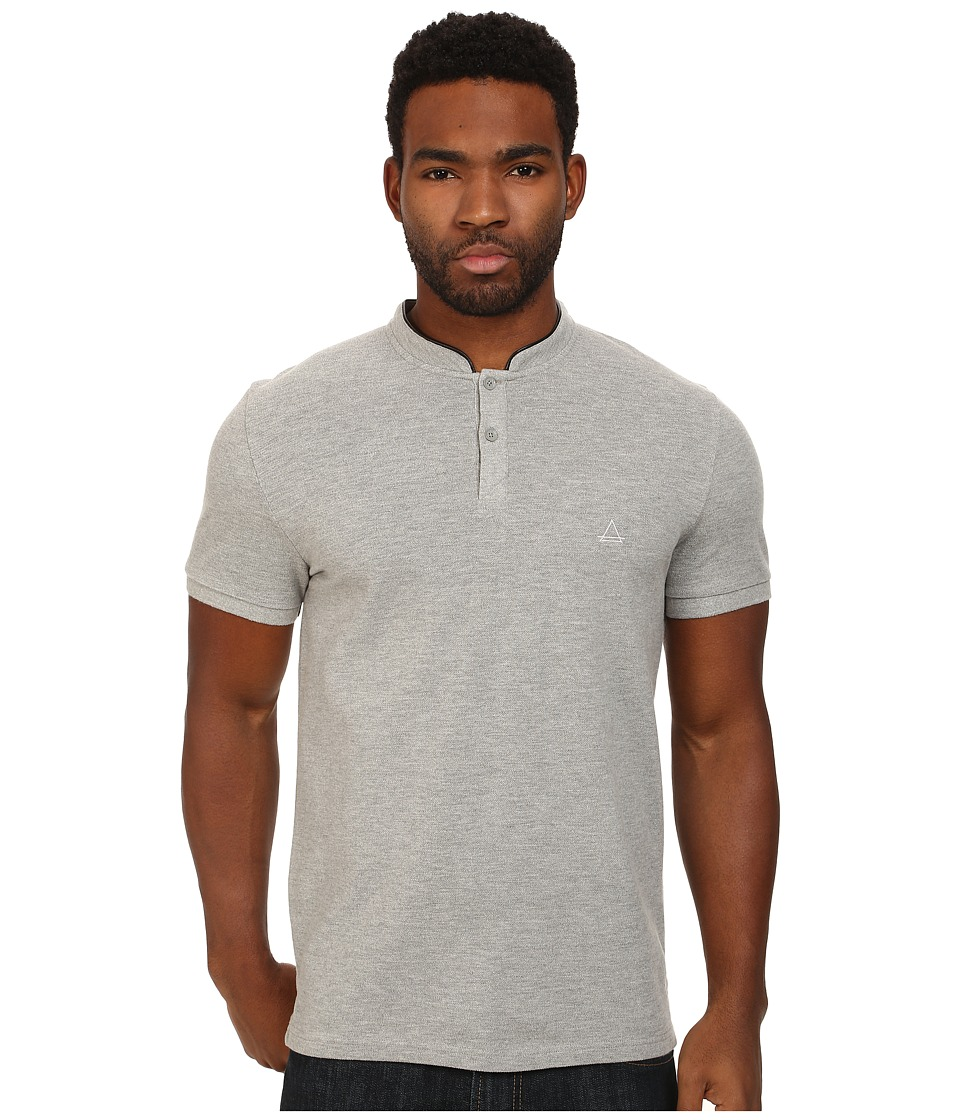 Eleven Paris - Bilbao Polo (Grey Chine) Men's Short Sleeve Knit