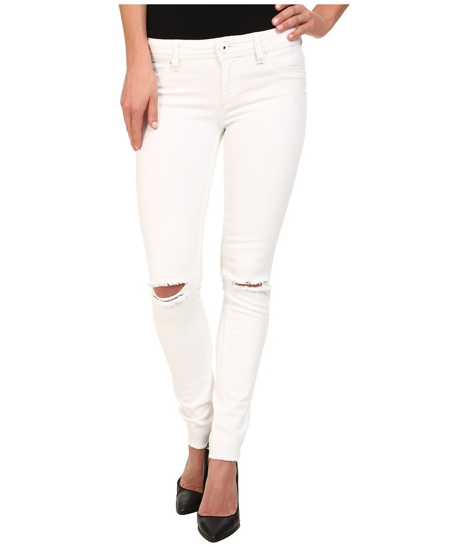 DL1961 - Emma Skinny w/ Distress in Dove White (Dove White) Women's Jeans