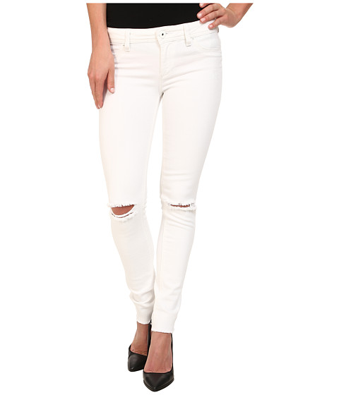 DL1961 - Emma Skinny w/ Distress in Dove White (Dove White) Women