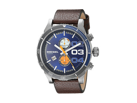 Diesel - Double Down 2.0 Chrono DZ4350 (Brown) Watches