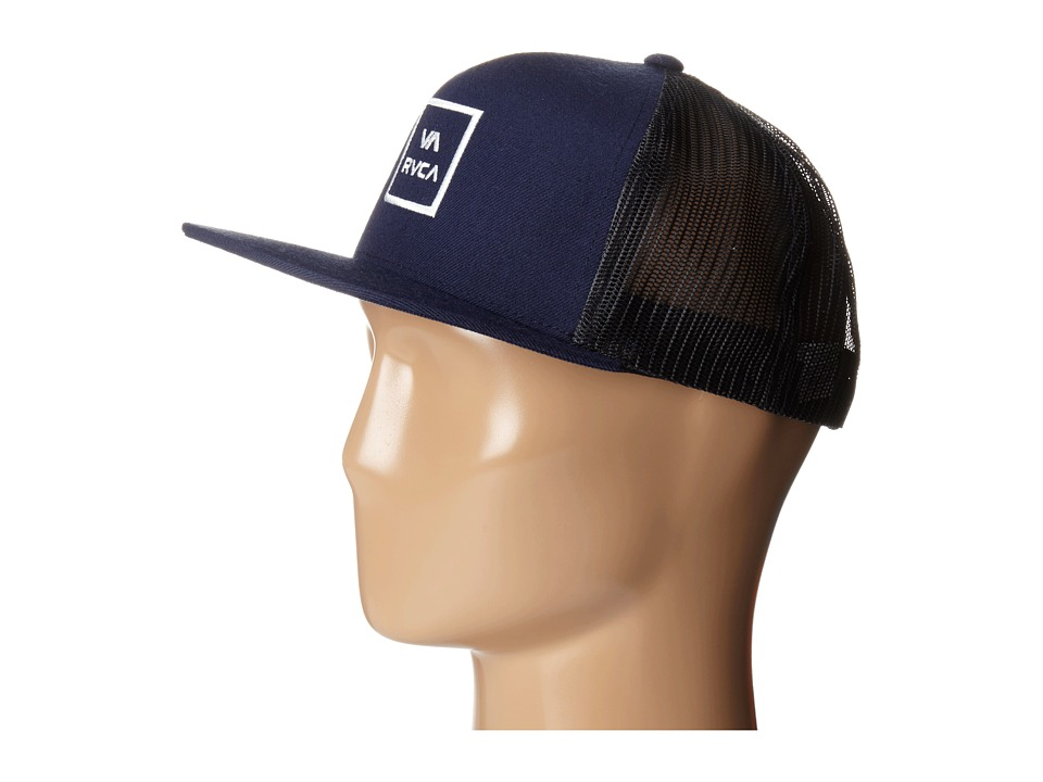 RVCA - VA All The Way Trucker (Navy) Caps
