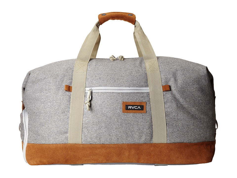 RVCA - Oakwood Duffel (Grey Heather) Duffel Bags