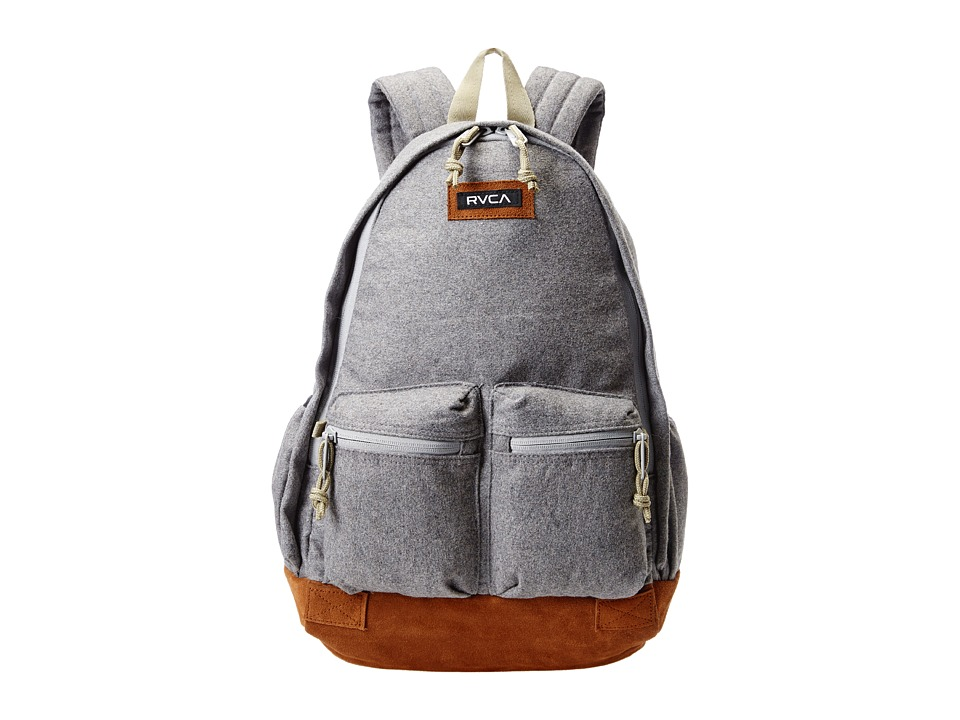 RVCA - Crescent Backpack (Grey Heather) Backpack Bags