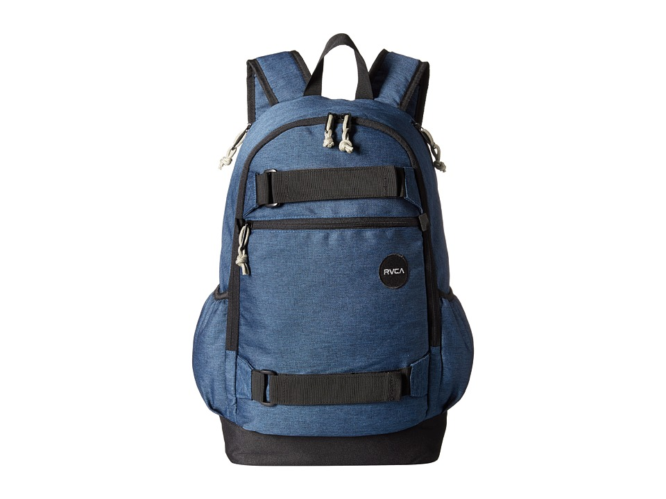 RVCA - Push Skate Backpack (Navy Heather) Backpack Bags