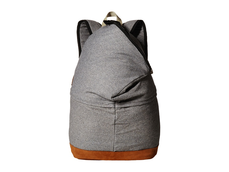 RVCA - Camden Backpack (Grey Heather) Backpack Bags