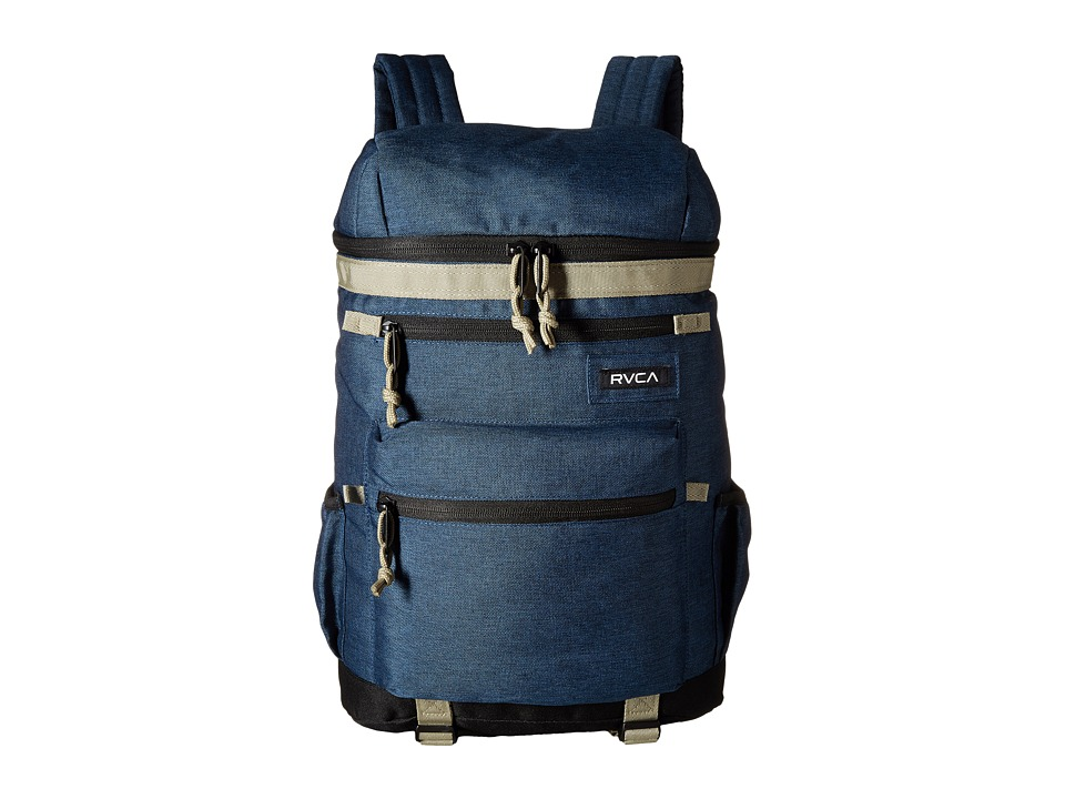 RVCA - Harbour Backpack (Navy Heather) Backpack Bags