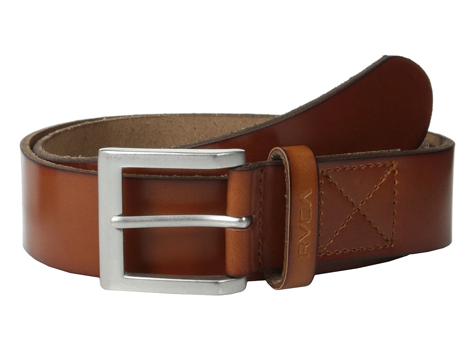 RVCA - Sycamore Belt (Brown) Men's Belts