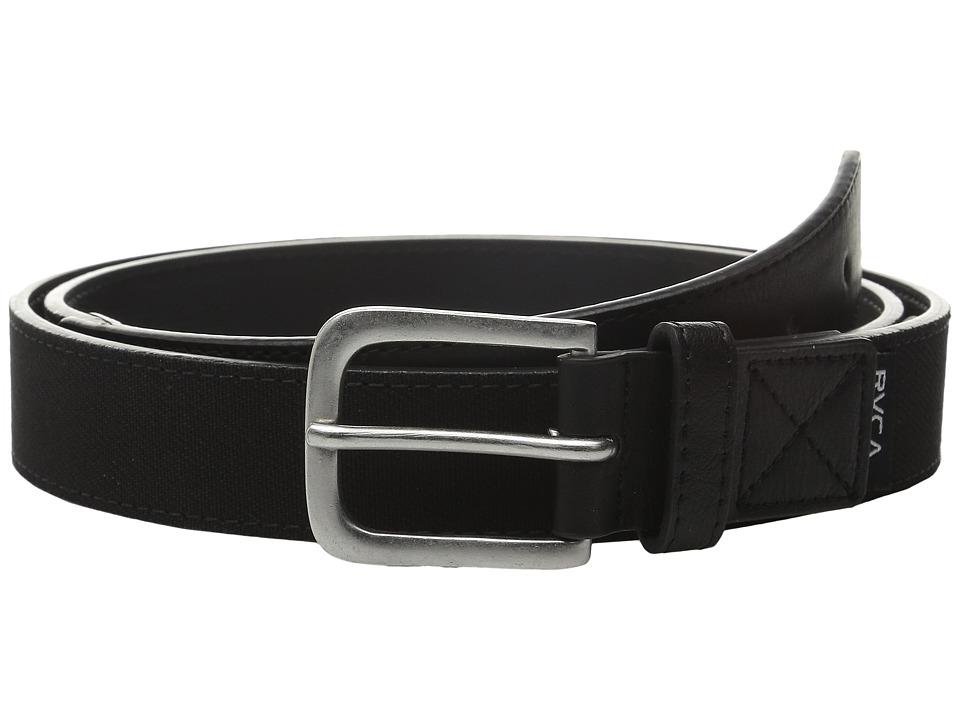 RVCA - Reservoire Belt (Black) Men's Belts