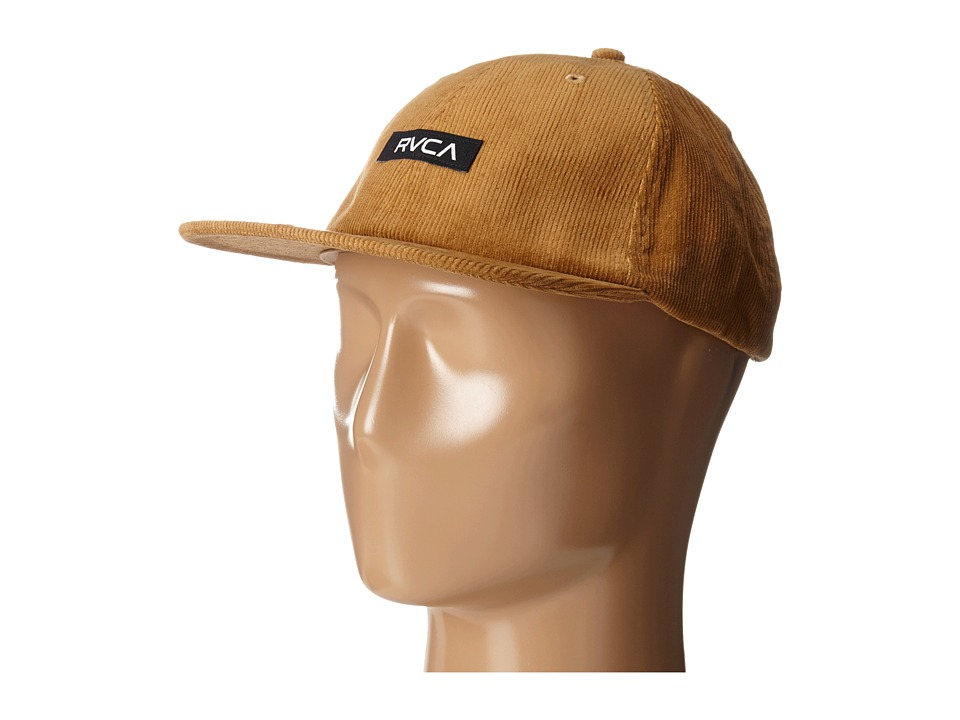 RVCA - Fleetwood Six Panel (Chestnut) Caps