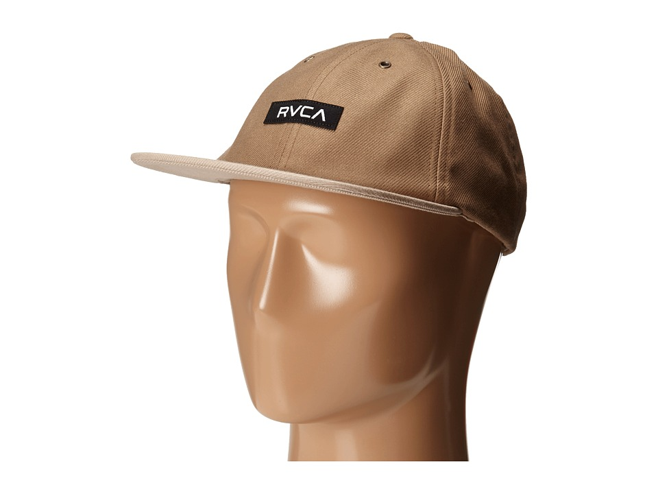 RVCA - Bixel Six Panel (Khaki) Caps