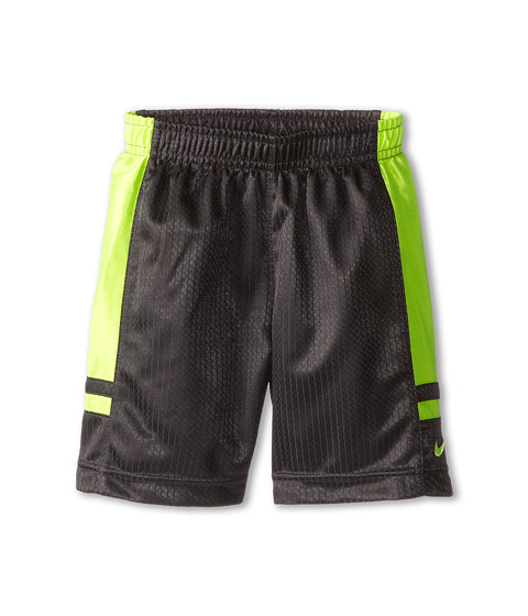 Nike Kids - Franchise Shorts (Toddler) (Anthracite/Volt) Boy