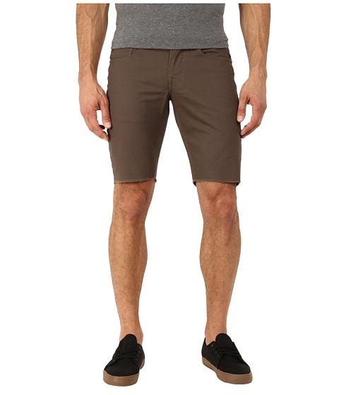 Matix Clothing Company - Gripper Twill Shorts (Dark Army) Men