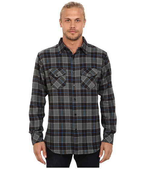 Matix Clothing Company - Cassius Flannel (Black) Men's Clothing