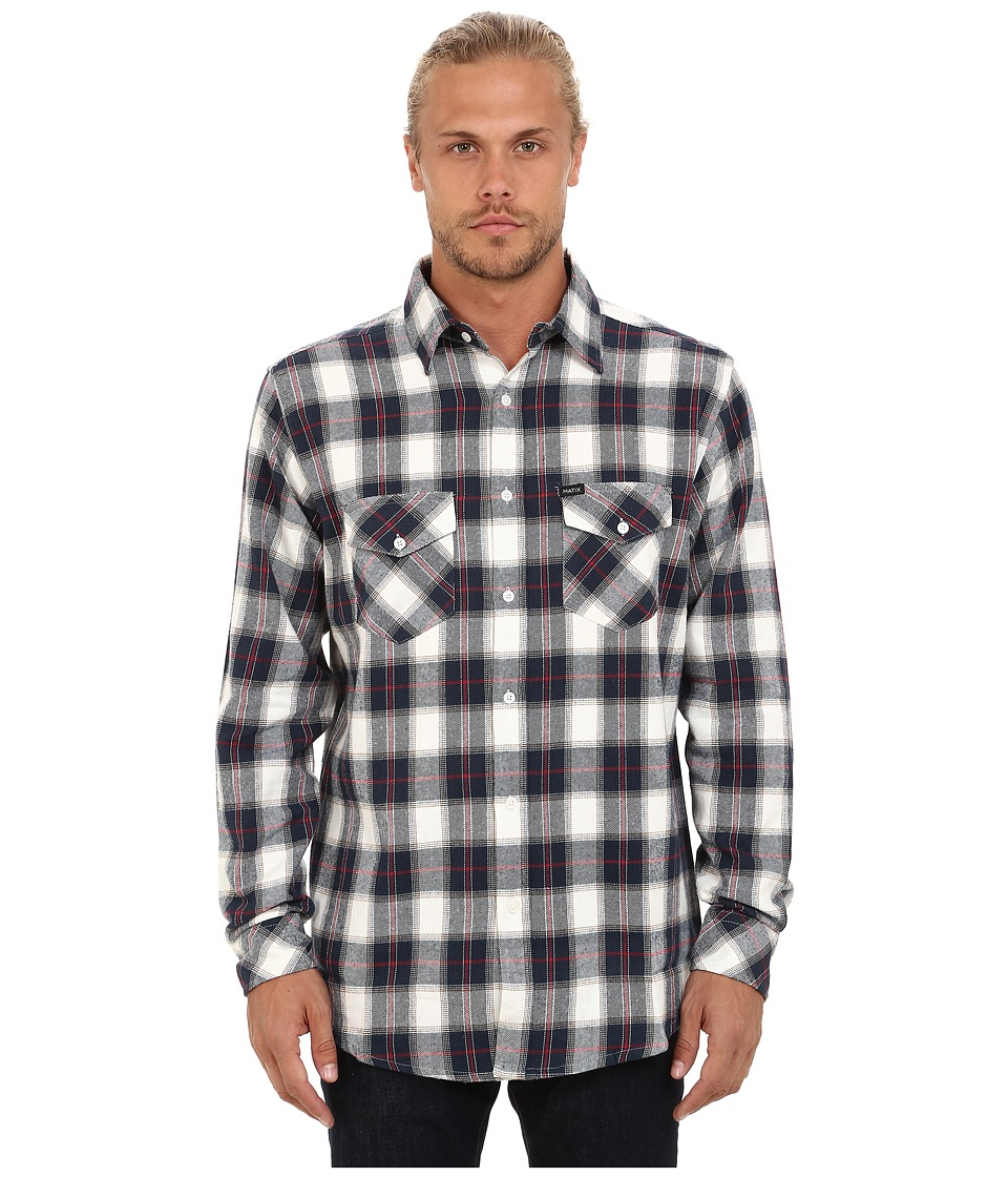 Matix Clothing Company - Cassius Flannel (Natural) Men's Clothing