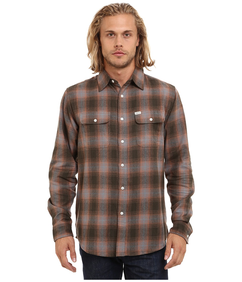 Matix Clothing Company - Parker Flannel (Grey) Men's Clothing