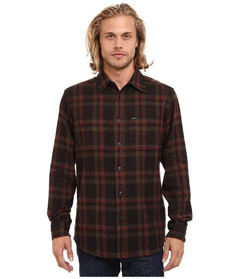Matix Clothing Company - Lincoln Flannel (Black) Men