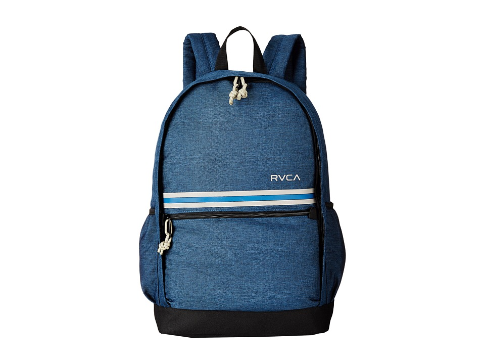RVCA - Barlow Backpack (Navy Heather) Backpack Bags