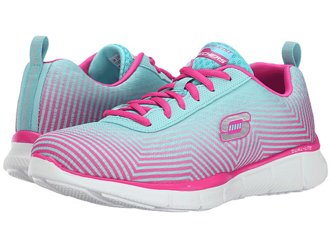 SKECHERS - Expect Miracles (Light Blue Pink) Women's Shoes