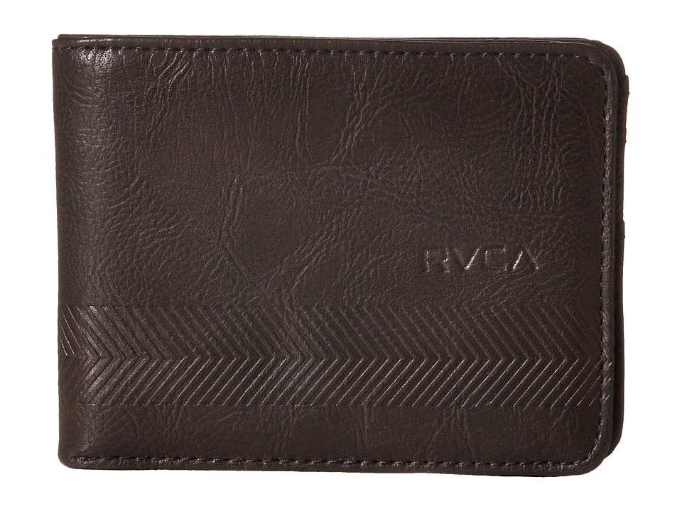 RVCA - Selector Wallet (Brown) Wallet Handbags